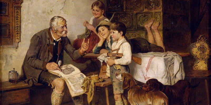 Die Kunst des Vorlesens und Geschichtenerfindens
